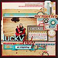Gossamer Blue :: Lucky Lady by Christine Middlecamp